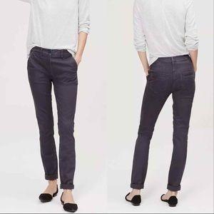 Ann Taylor LOFT High Waist Skinny Utility Pants 4
